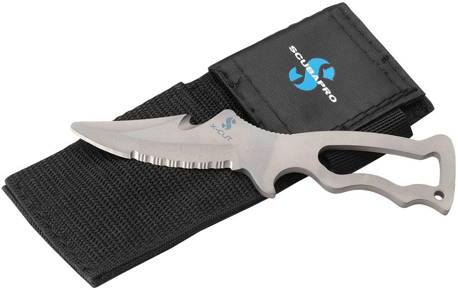 Титаниев водолазен нож X-CUT TECH - Scubapro