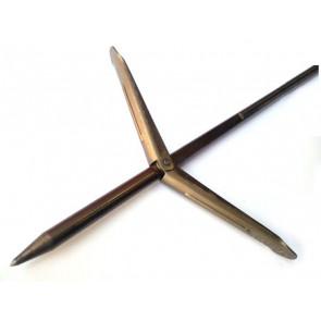 Стрела с двойна контра ERGOT, Ø7 мм / 140 см за ластичен харпун 100 см – Devoto