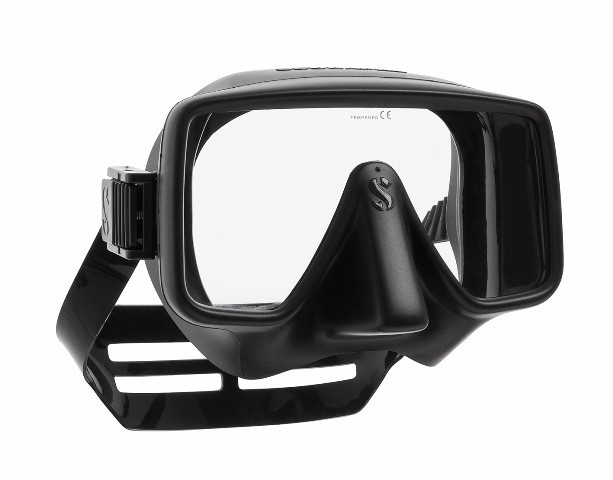 Водолазна маска без рамка FRAMELESS GORILLA Black Mat - Scubapro