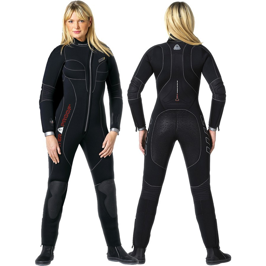 Дамски водолазен неопренов костюм W1 Lady 7 мм - Waterproof