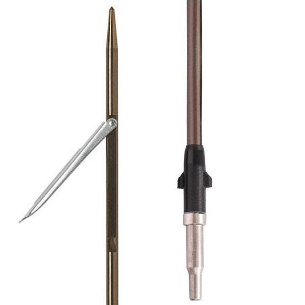 Тайтянска стрела с еденична контра Ø8 мм / 125 см за пневматичен харпун 115 см - Devoto