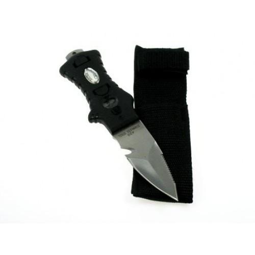 Водолаен нож MINIRAZOR ALFA Black Nylon Pouch – Tecline