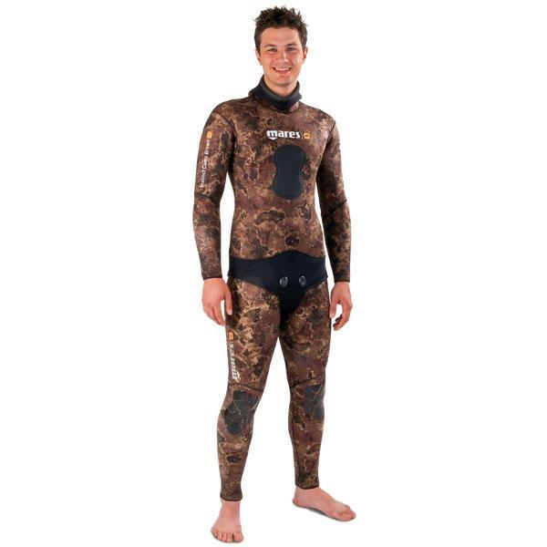 Неопренов костюм за подводен риболов Instinct Camo Brown 5,5 мм - Mares