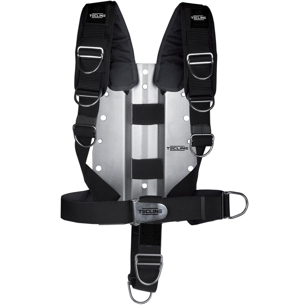 Регулируем водолазен харнес със стоманен бекплейт 3 мм Comfort Harness - Tecline
