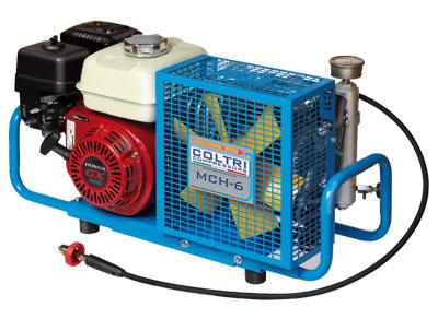 Бензинов портативен водолазен компресор със заглушител MCH 6 SH EU 232/300 бара / HONDA – Coltri