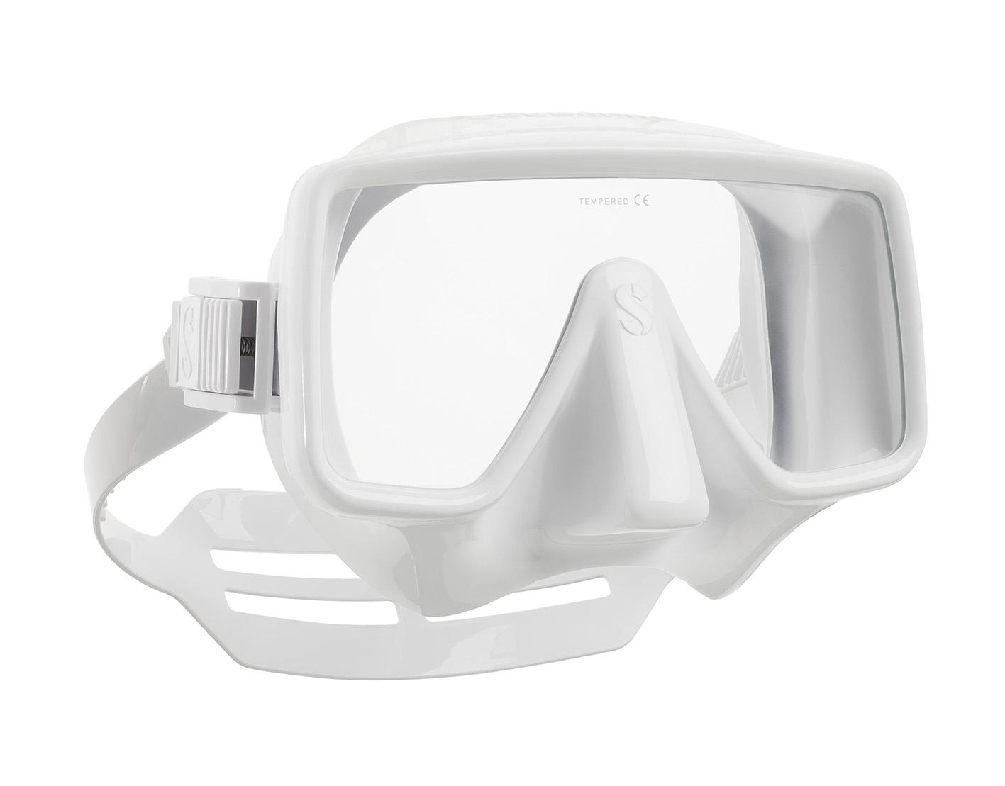 Водолазна маска без рамка FRAMELESS White – Scubapro