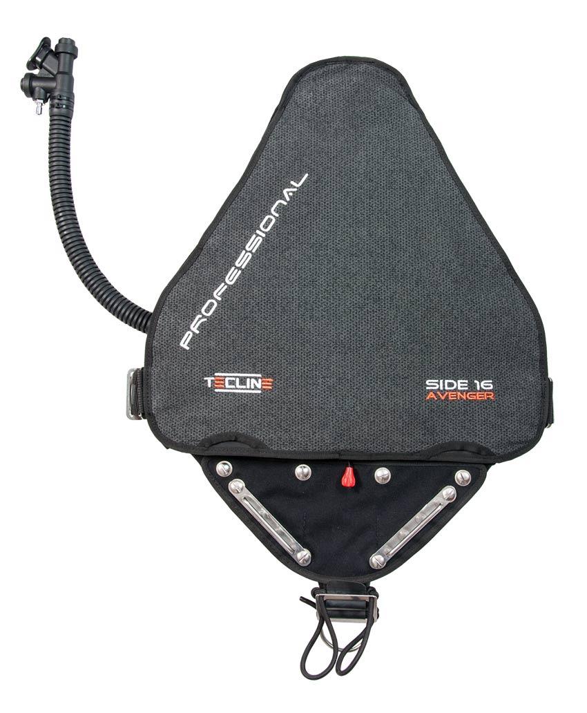 Водолазен баластен компенсатор за Sidemount  SIDE16  AVENGER PROFESSIONAL KEVLAR - Tecline