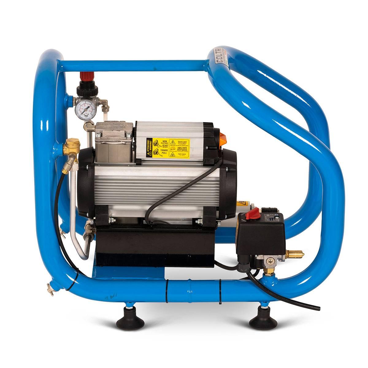 Електрически водолазен компресор тип Наргеле ТESEO EM THIRD LUNG COMPRESSOR 10 бара – Coltri