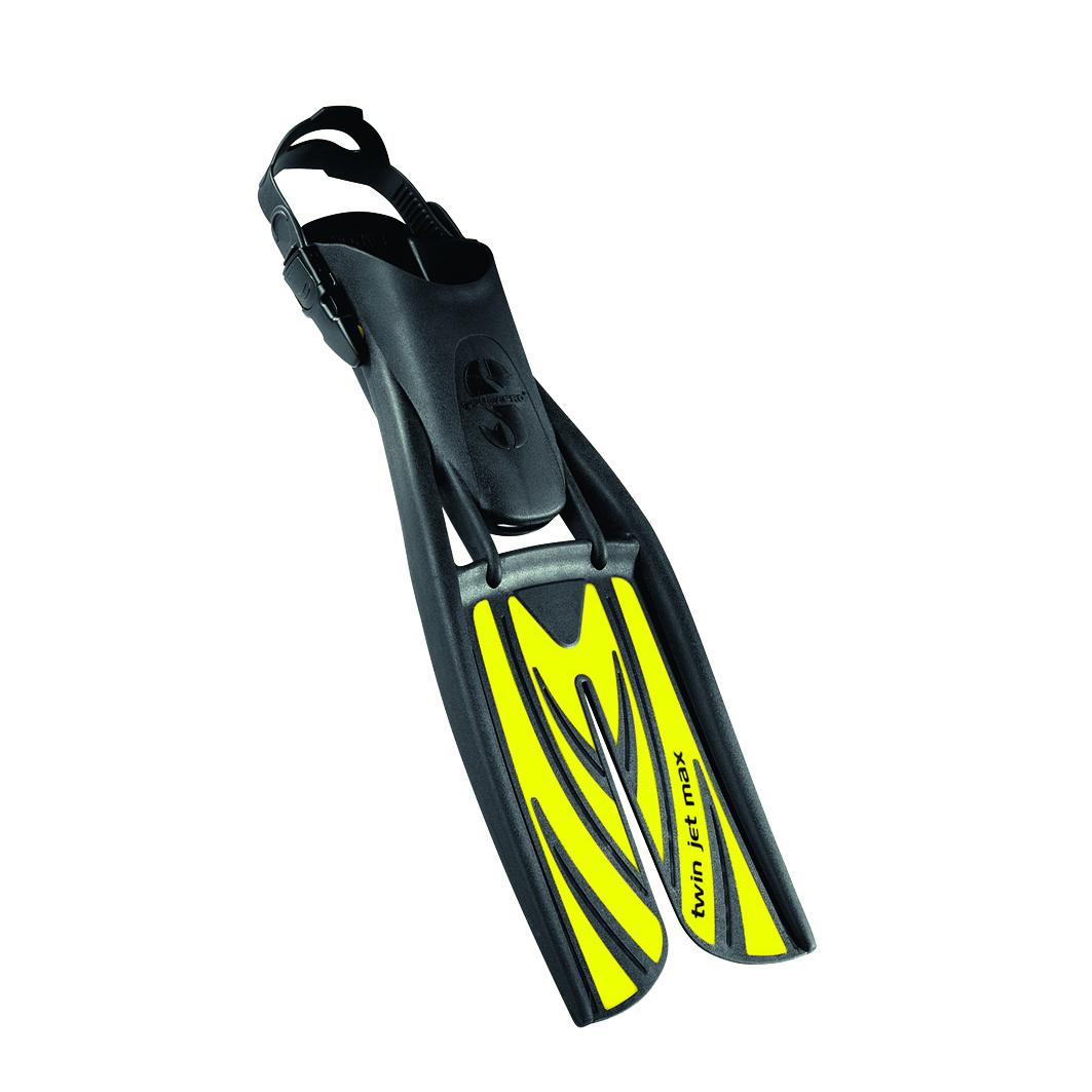 Водолазни плавници TWIN JET MAX Yellow - Scubapro