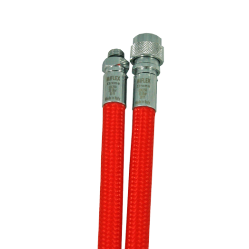 Шланг за водолазна жилетка Miflex XTREME с дължина 75cм / червен – Miflex