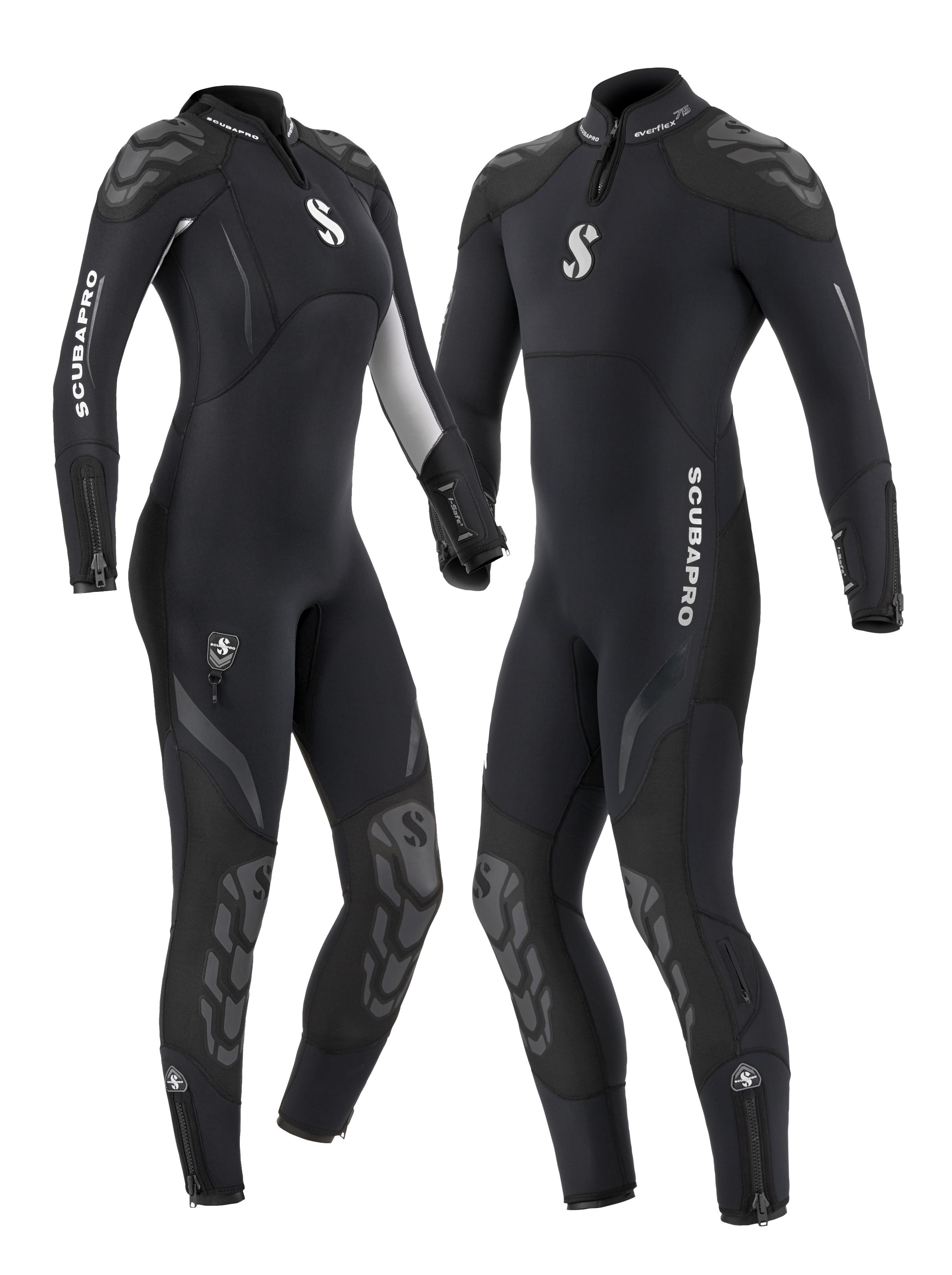 Мъжки водолазен костюм EVERFLEX Man 5/4 мм - Scubapro