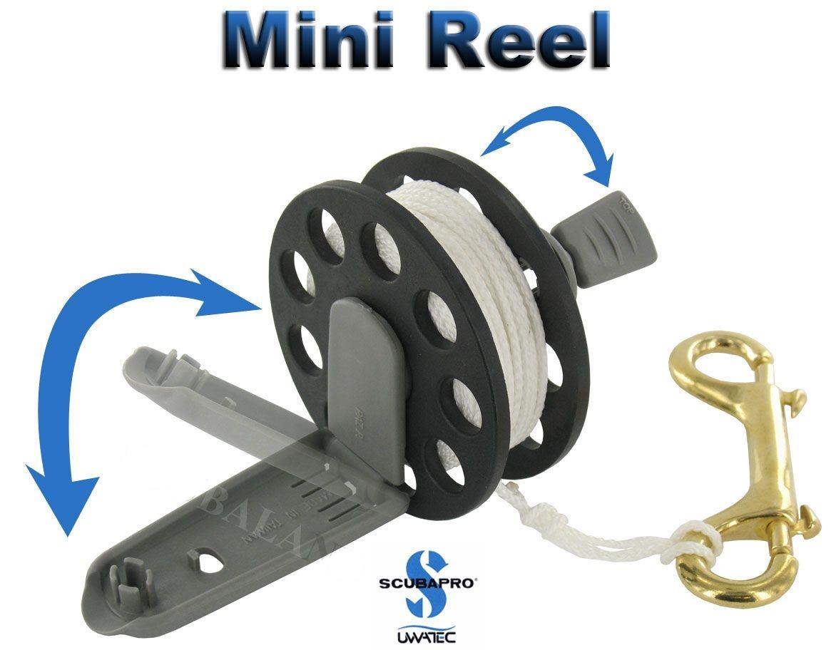 Водолазна макара тип шпула със сгъваема дръжка MINI REEL 15 м – Scubapro