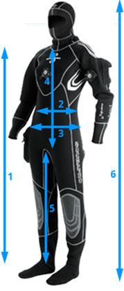 Сух водолазен костюм от компресиран неопрен EVERDRY 4.0 – Scubapro