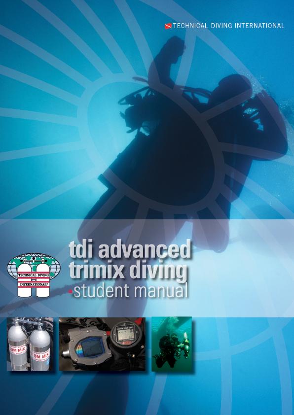 TDI Advanced Trimix Diving / English – учебник на англииски език