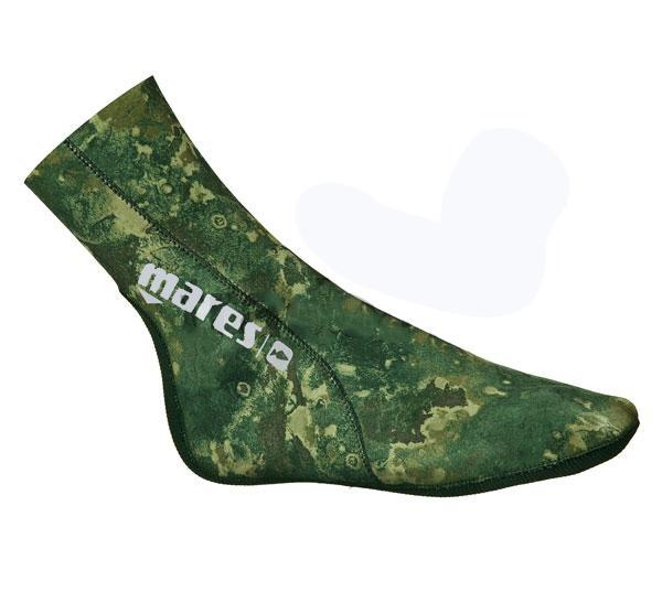 Неопренови чорапи CAMO GREEN 30 / 3 мм - Mares