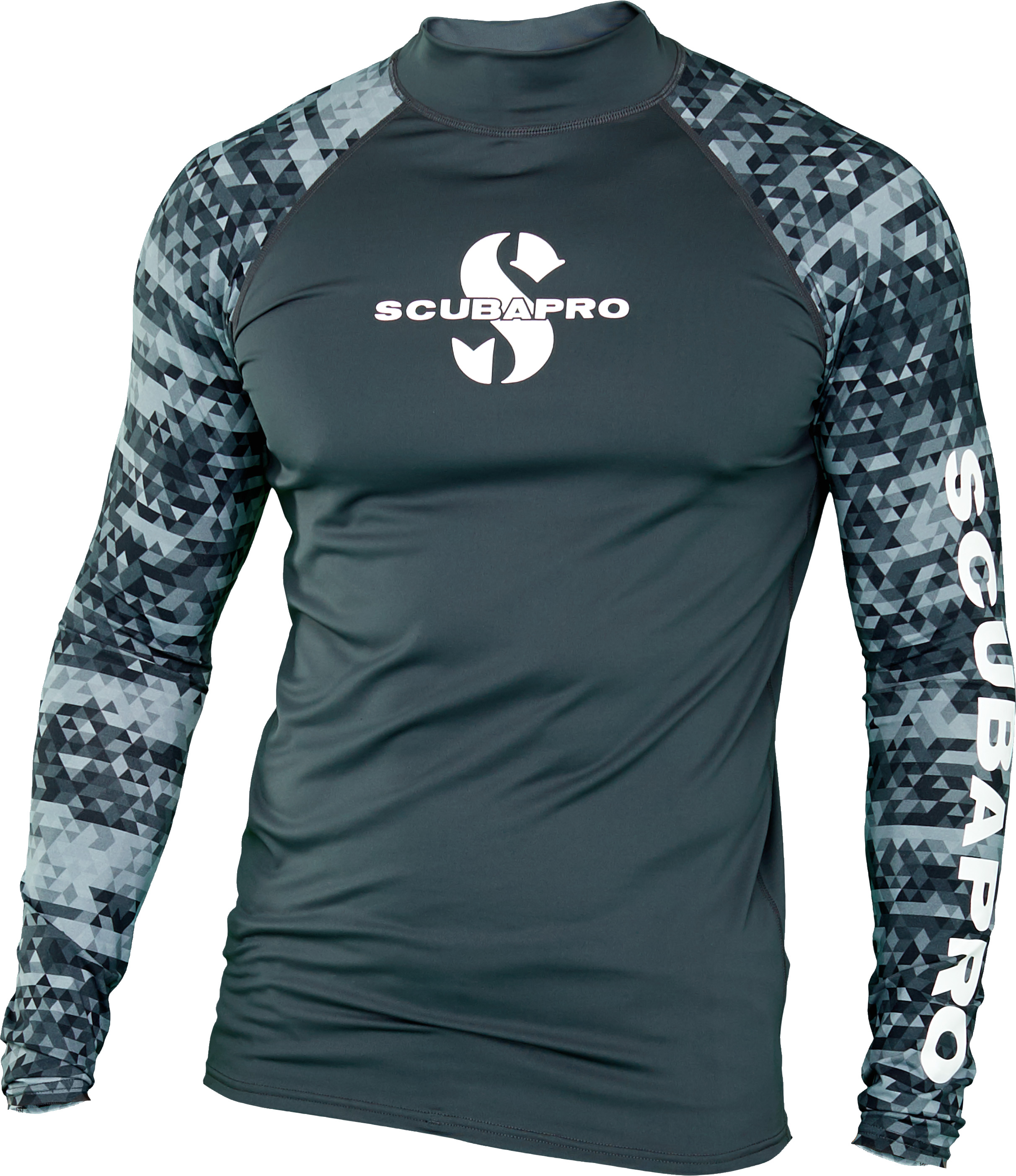 Мъжка ликра с UV защита RASH GUARD GRAPHITE LS Man – Scubapro