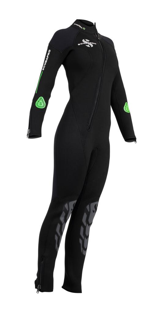 Дамски неопренов водолазен костюм ONEFLEX Fron Zip Lady 7 мм - Scubapro