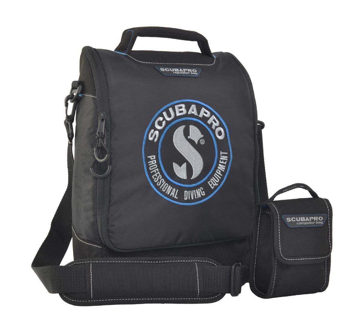 Комплект от 2 чанти за водолазни регулатори и за водолазен компютър - Scubapro