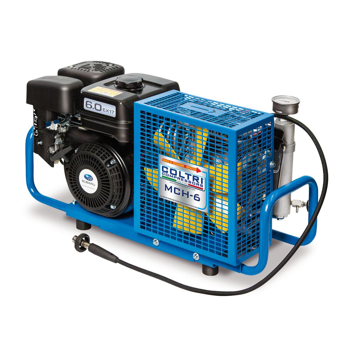 Бензинов портативен водолазен компресор MCH 6 SR 232/300 бара / SUBARU – Coltri