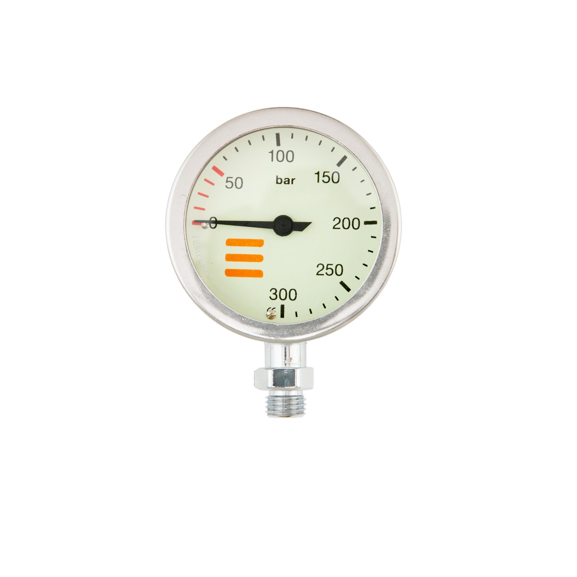 Водолазен манометър SPG S TECH CHROME 300 бара / 52 мм - Tecline