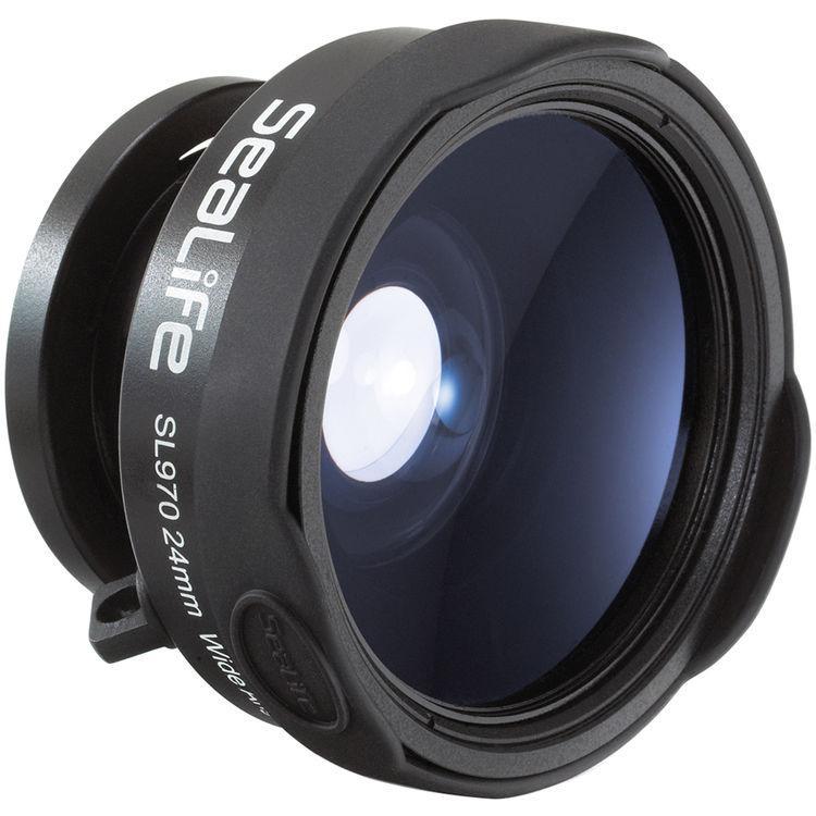 Широкоъгълна леща за подводен фотоапарат WIDE ANGLE LENS SL970 24 мм – Sea Life