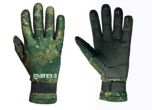 Неопренови ръкавици AMARA CAMO GREEN 20 / 2 мм - Mares