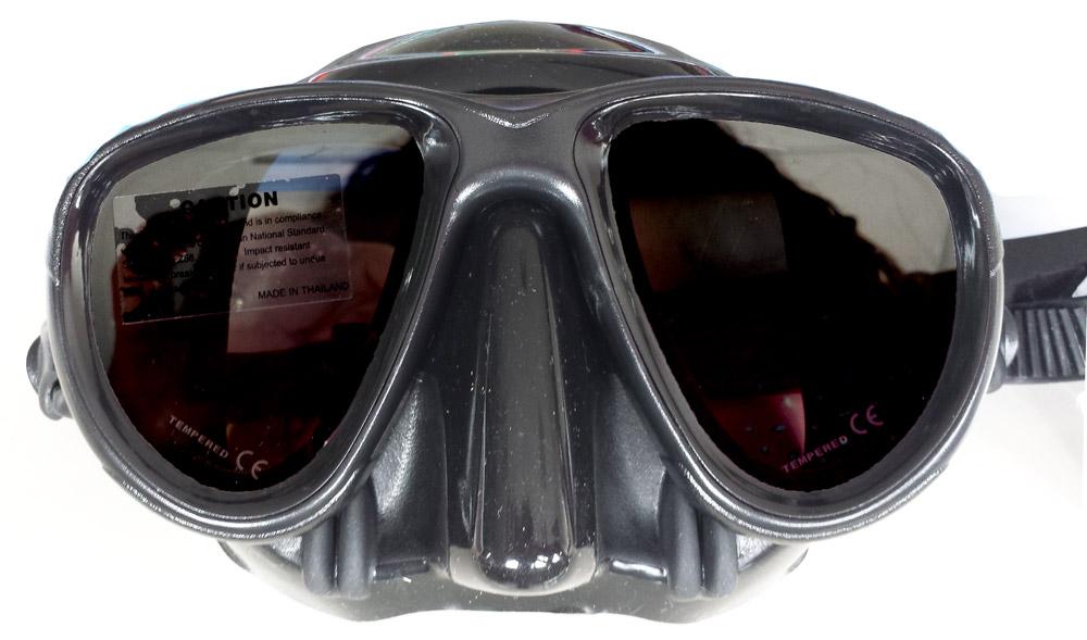 Маска за подводен риболов с огледални стъкла EVIL MIRROR - Sigalsub