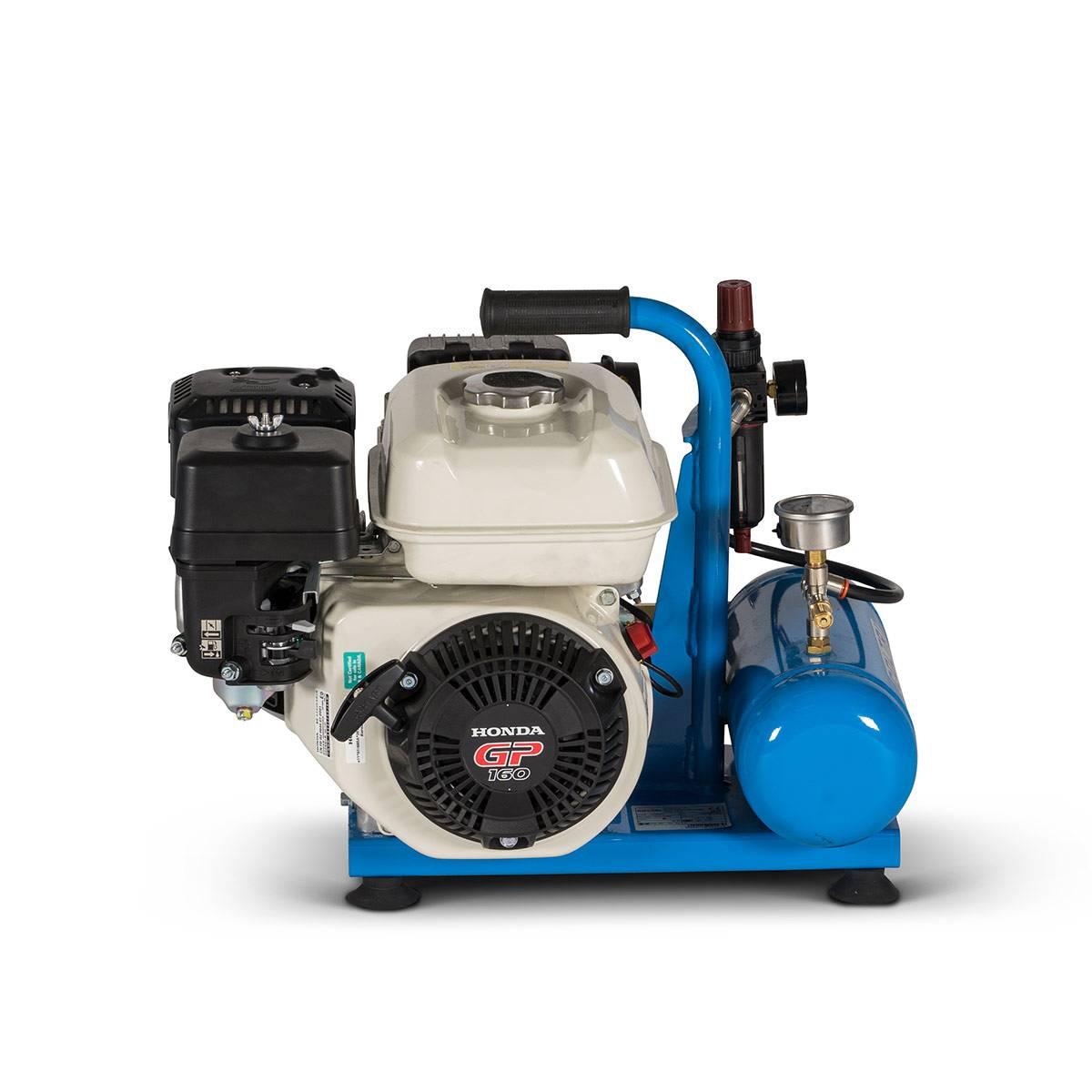 Бензинов водолазен компресор тип Наргеле NETTUNO THIRD LUNG COMPRESSOR 10 бара – Coltri