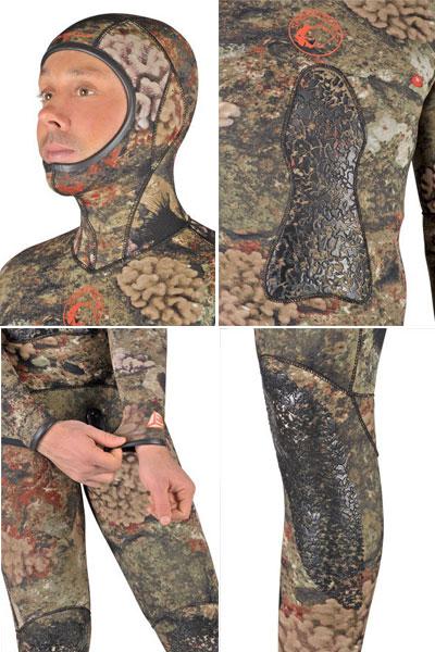 Неопренов костюм за подводен риболов REEF CAMU 3 мм - Sporasub