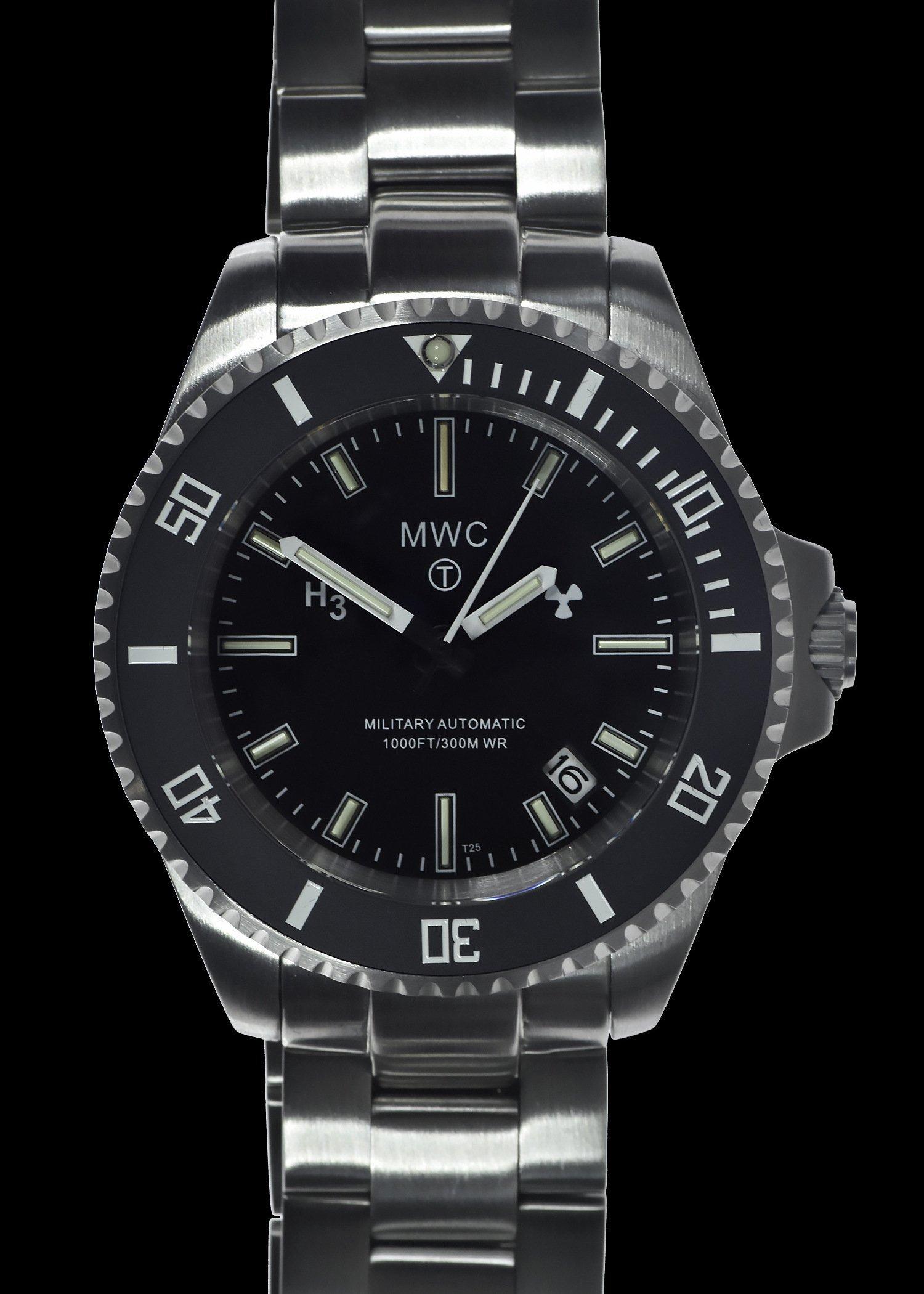 Водолазен часовник MWC 300m Automatic Tritium GTLS Military Divers - MWC