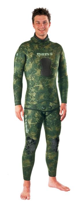 Неопренов костюм за подводен риболов Instinct Camo Green 5,5 мм - Mares