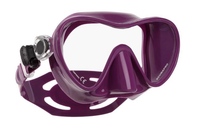Водолазна маска без рамка TRINIDAD 3 Purple - Scubapro