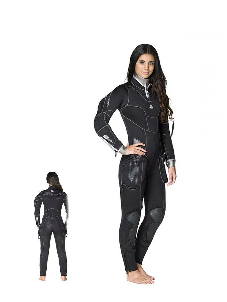 Полусух водолазен костюм SD COMBAT Lady - Waterproof