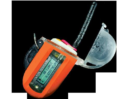 Водоустойчива до 130 метра радиостанция с бутон за спешна помощ SOS и GPS система - Nautilus Lifeline