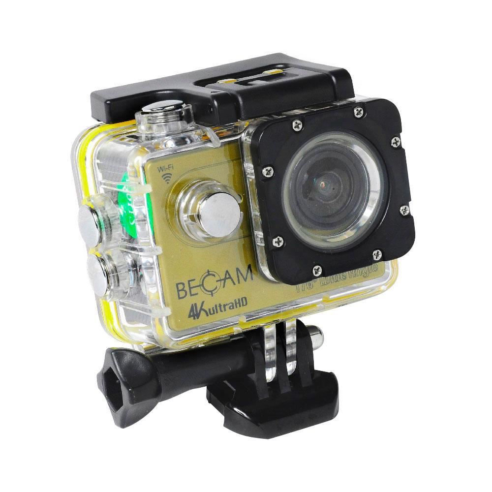 Микро екшън фото-видео камера BECAM 4K WiFi - BestDivers