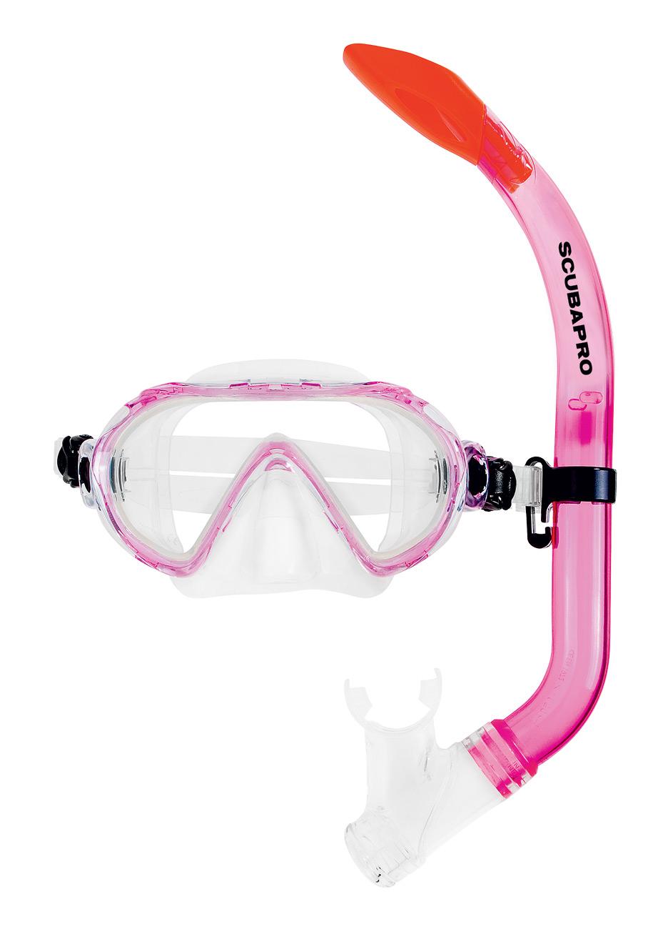 Детски комплект водолазна маска и шнорхел SPIDER COMBO Kids - Scubapro