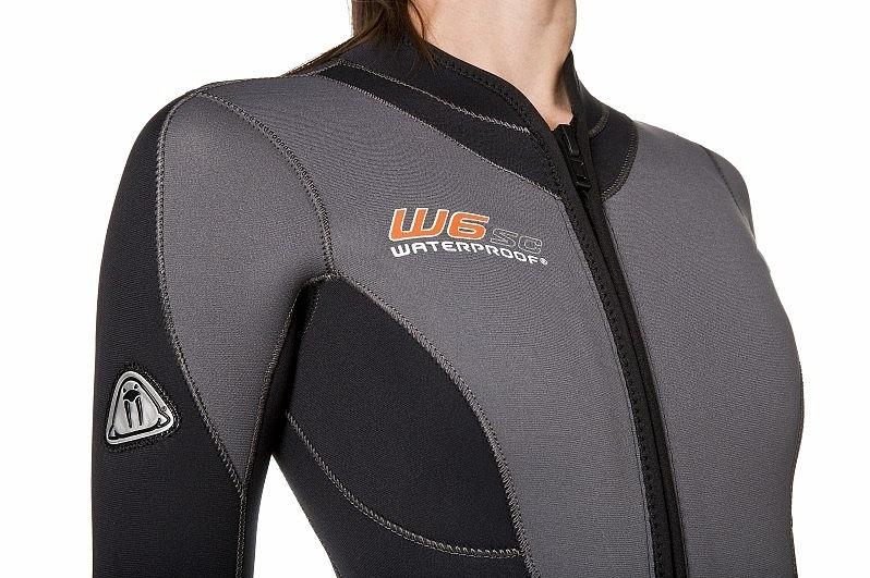 Дамски водолазен неопренов костюм W6 SC Lady 7 мм - Waterproof