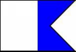Международен водолазен флаг ALPHA - Sub Gear