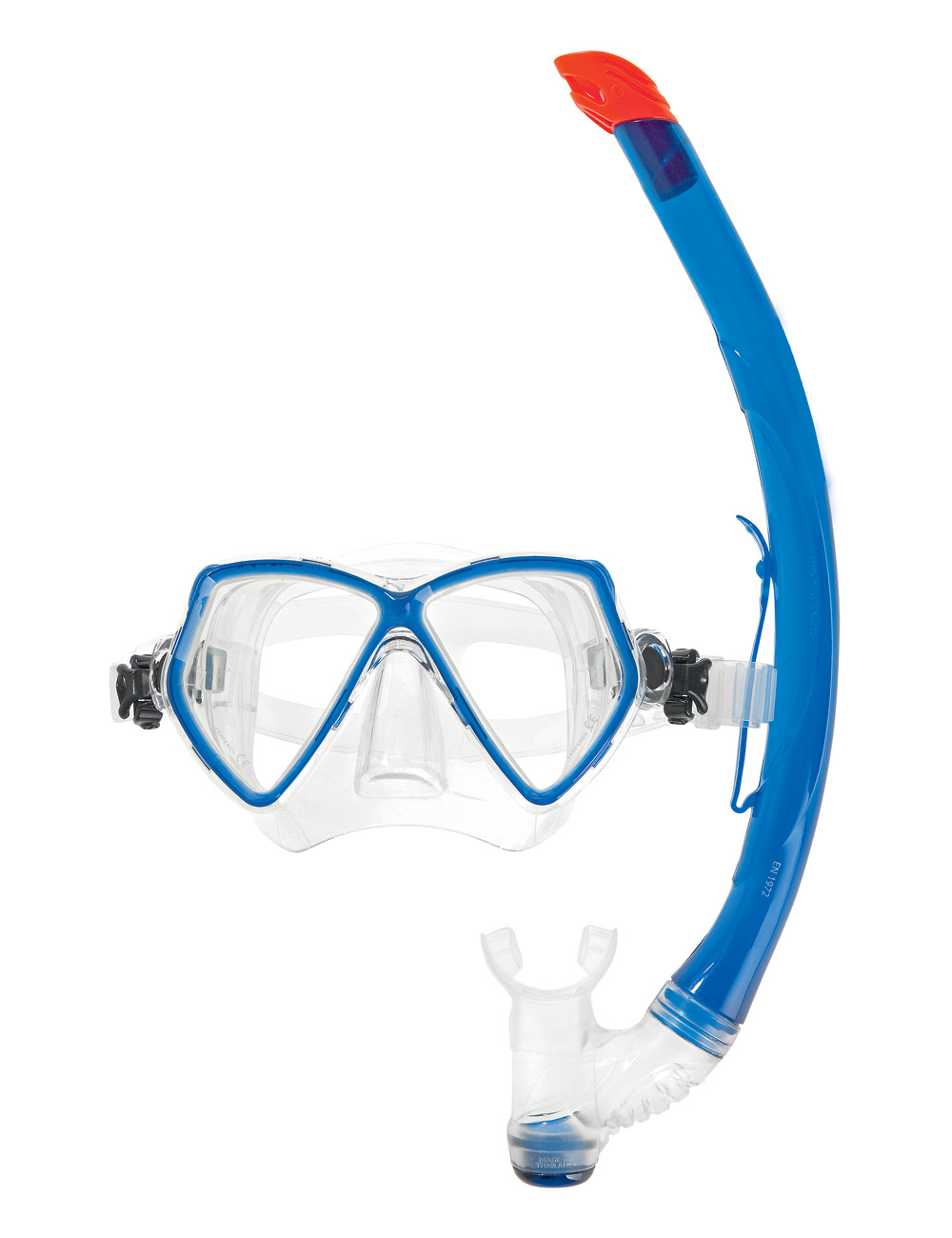 Комплект водолазна маска и шнорхел PANTAI COMBO SET Blue - Scubapro