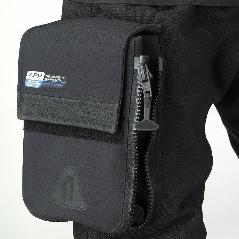 Сух водолазен костюм D7 PRO ISS CORDURA - Waterproof