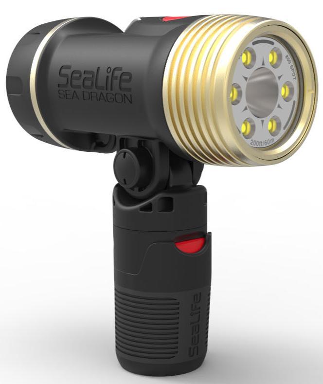 Водолазно фото-видео осветление SEA DRAGON 2100 DUAL BEAM – SeaLife