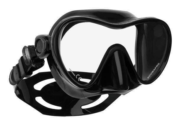 Водолазна маска без рамка TRINIDAD 3 Black - Scubapro