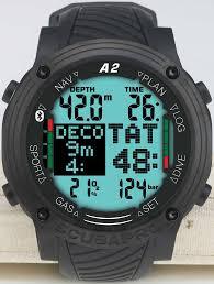 Водолазен компютър A2 със 7 режима (Sport, Scuba, Gauge, Apnea, Trimix, Sidemount, CCR) - Scubapro