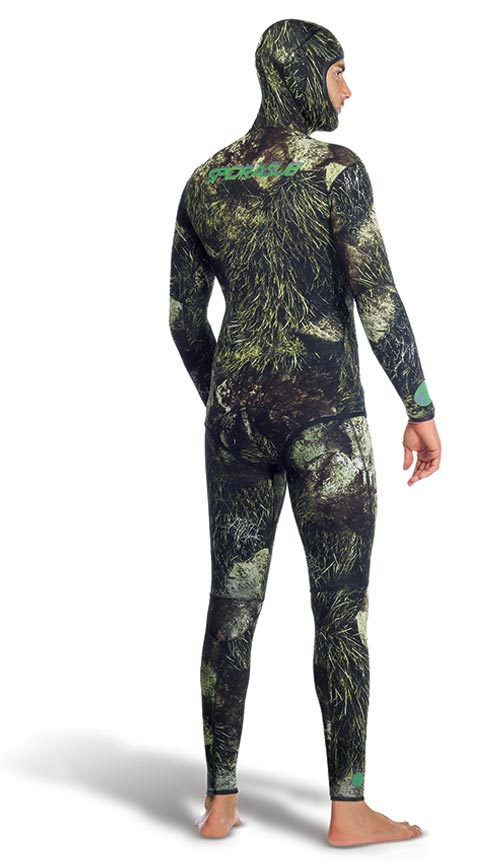Неопренов костюм за подводен риболов SEA GREEN 3 мм - Sporasub
