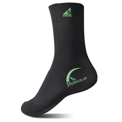 Неопренови чорапи 140° / 5 мм - Sporasub