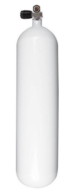 Водолазна бутилка за ребридери с овално дъно 3 л / 200 бара - Eurocylinder