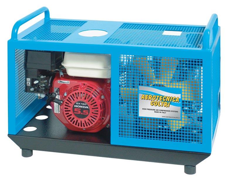 Бензинов портативен водолазен компресор със заглушител MCH 6 SH EU COMPACT 232/300 бара / HONDA – Coltri