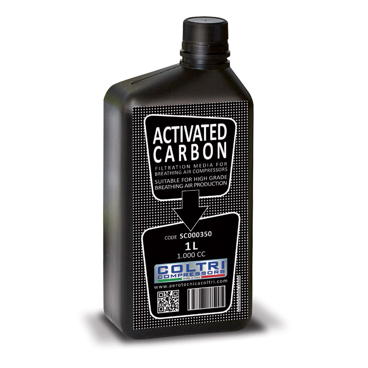 Активен въглен за филтърно тяло на водолазни компресори - Coltri