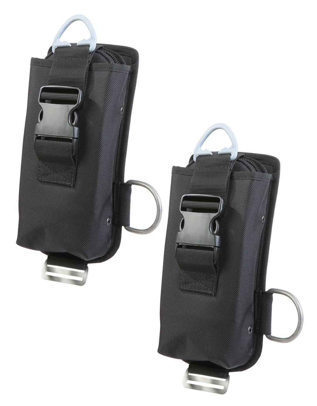 Комплект джобове за тежести за водолазна жилетка тип крило със система за бързо освобождаване X-TEK QR - Scubapro