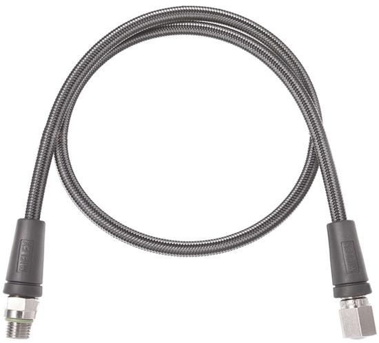 Шланг за високо налягане / за водолазен манометър Miflex XTREME с дължина 65cм / карбон – Miflex